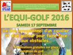 Tournoi EQUIGOLF 2016